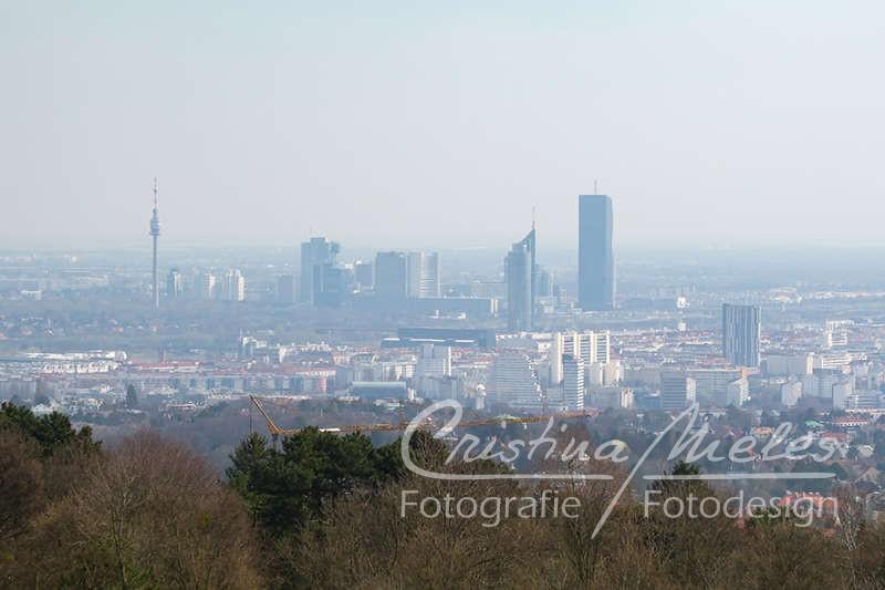 Blick über den Norden Wiens
