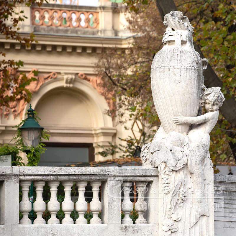 Ampherstatue im Wiener Stadtpark